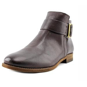 Franco Sarto Women's Holmes Brown Leather Boots 10